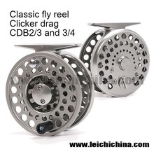 Best Classic clicker CNC machined fly reel fly fishing reel