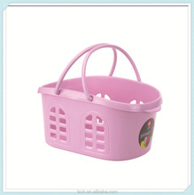 Cheap Kitchen small plastic baskets with handles