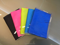 Microfiber Sports Printed Small Hand Towels