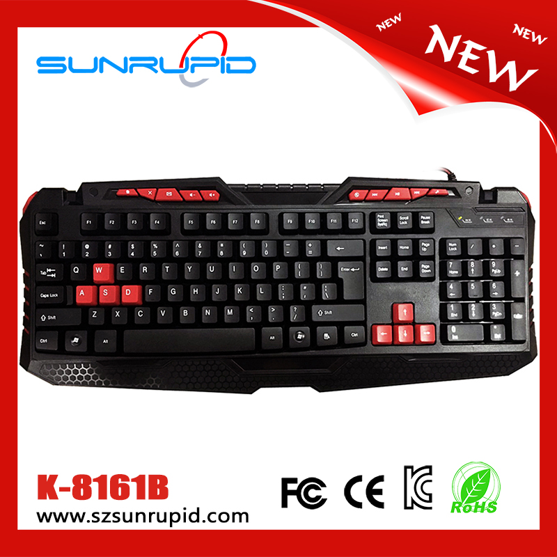 Professional backlit gaming keyboard layout laptop spanish english backlit gaming keyboard
