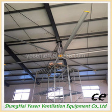 Shanghai manufacture Hvls Air Cooling Industrial Large Ceiling Fan for factory