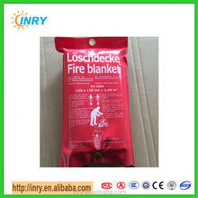 en1869 certificate anti-fire blanket/kitchen fire proof blanket packed in hard box