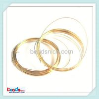 Beadsnice ID 26018 14K Gold Filled Wire 23Gauge Round wholesale gold filled wire
