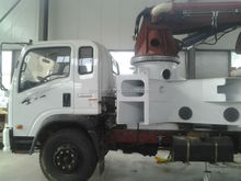 hot sale truck mounted concrete mixer pump 24m