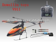 HOT!!! V911 4 CH 2.4G RC Single Rotor Helicopter with gyro+light