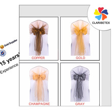 Cheap Organza Chair Cover Sash