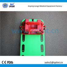 Backboard head immobilizer spine board universal head immobilizer