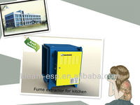 smoke purifier with air cleaner for five star hotel