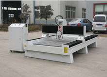 jinan water cooled spindle cnc stone router 1325 carving engraving machine