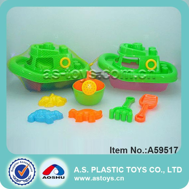 cheap kids sand beach toy plastic boat