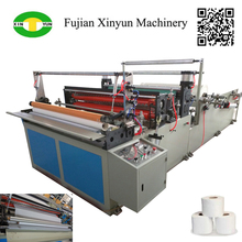 Widely Used Semi Automatic Toilet Tissue Paper Converting Machine