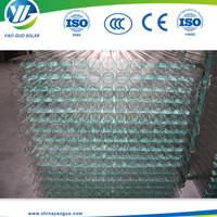 solar glass vacuum tube borosilicate glass tube for solar water heater production