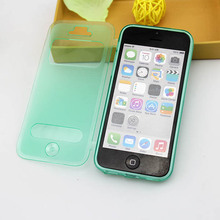 Flip tpu case for apple iphone 5c made in China