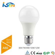Manufacture hot sale A60 E27 LED Bulb 9w, high lumen led bulb 9W