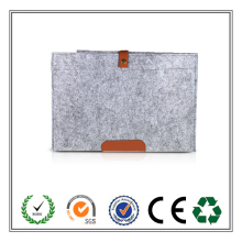 Alibaba Express Top Quality Grey Felt Laptop Sleeve For Computer Holder