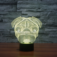 2017 Creative Gifts Lamp 3D Night