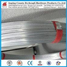 hot dipper galvanized Oval Steel Wire for farm fence