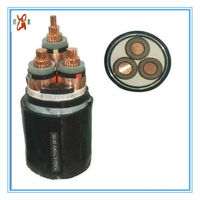 Supply 18 / 30KV (33KV) high voltage Copper Core xlpe power cable
