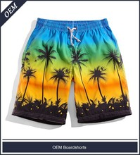 OEM factory price allover sublimation print boardshorts