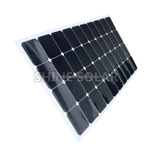 High efficiency 120w thin film solar panel flexible factory direct
