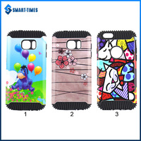 [Smart Times] Wholesale Hedgehog Design Light Oil Shockproof 2 in 1 TPU+PC Cover Case For Sasmsung Galaxy S7
