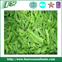 wholesale Frozen Green Pepper,Frozen Green Bell Pepper whole/dices/slices,Frozen Vegetable new crop