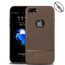 HUYSHE Hot Selling for iphone 7 new leather design mobile phone tpu back cover case for iphone 7 plus