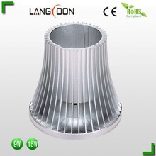 Bulb light 9w aluminum led lamp heatsink