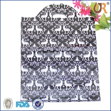 high quality cheaper reinforced patch handle die cut bag plastic bag