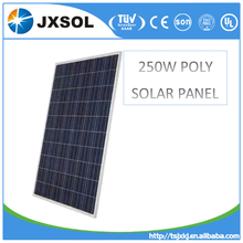 pv panel transparent poly 250w solar panel/panel solar/PV modules with TUV CEC CE UL SONCAP certiifcates