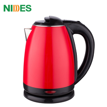 1.8L ss stainless steel selling red plastic classic mini travel aluminum daily use electronic appliance superior electric kettle