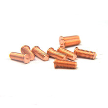 M10 Alloy Copper Threaded Round Head Welding Stud