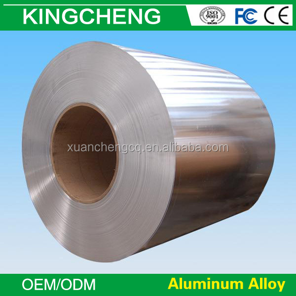 2015 made in China finish anodized aluminium foil stock T3-T8