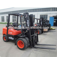 LPG / Gas Forklift with Full Free Mast / Conatiner Mast