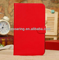 Fashion stand leather pouch case for Galaxy Tab 3 T310 T311