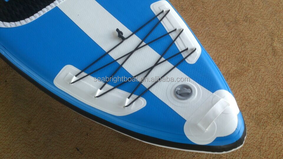 "Made in China factory 9'6"" -12'6"", 4"" 6"" thickness standing paddle board"