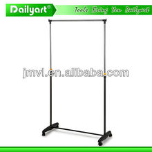 2015 new design high quality simple practical round garment rack