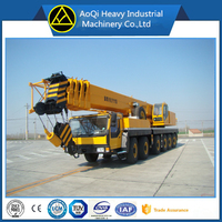 hot sale 100 ton truck crane QY100K with 100t lifting capacity mobile crane