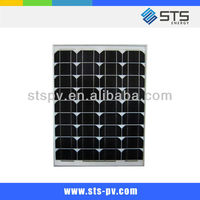 150W mono solar panel with high quality