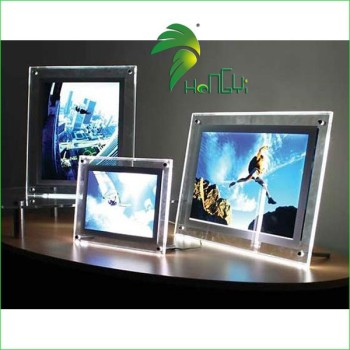 led crystal light box,acrylic led board,acrylic hanging sign board