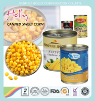 Canned sweet corn 425g Brown Color and HACCP Certification Canned Mushroom slices LC deferred payment