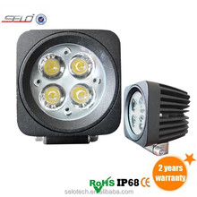 12W 2.6 Inch Multi-function Square LED Work Light Fog Lamp Driving Light ATV/Truck LED Work Light A Pillar A Column