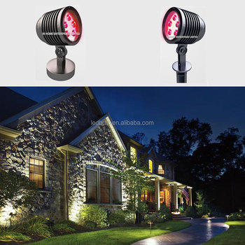Outside led garden light, 5W single color DC12V outdoor waterproof garden led light