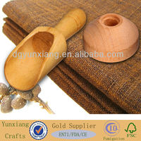 wooden scoop 85mm cosmetic scoop