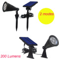 5 meters long /200 Lumen solar spotlight lamp for indoor and outdoor / emergency solar energy lighting (YH0502D)