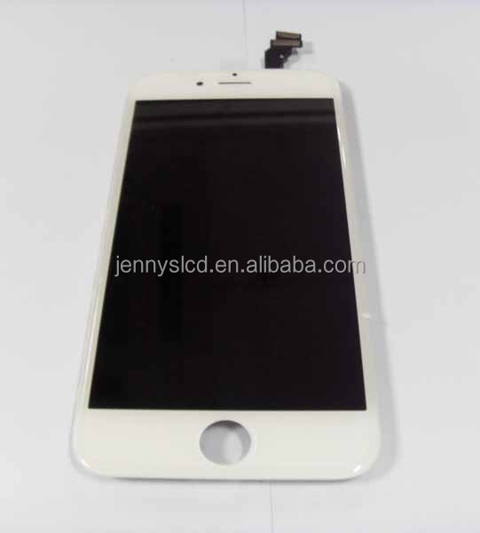 2014 new arrivals and OEM original for Iphone 6 plus lcd screen with touch white