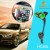 Adjustable dual USB car charging holder car holder with charger