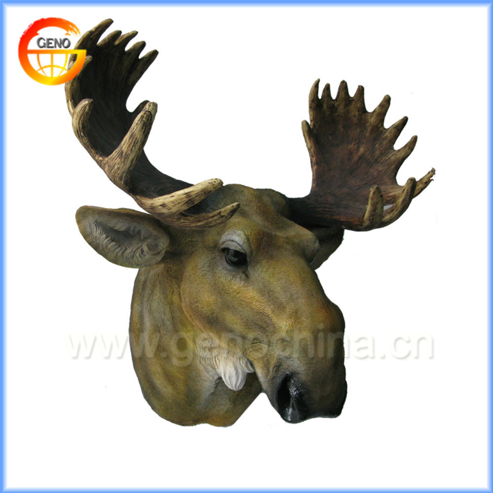 Mild artificial deer head home decoration items for indoor decoration hanging