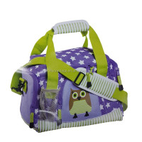 cute kids owl travel bag