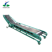 Factory direct sell long transport system sawdust granulations conveyor belt
